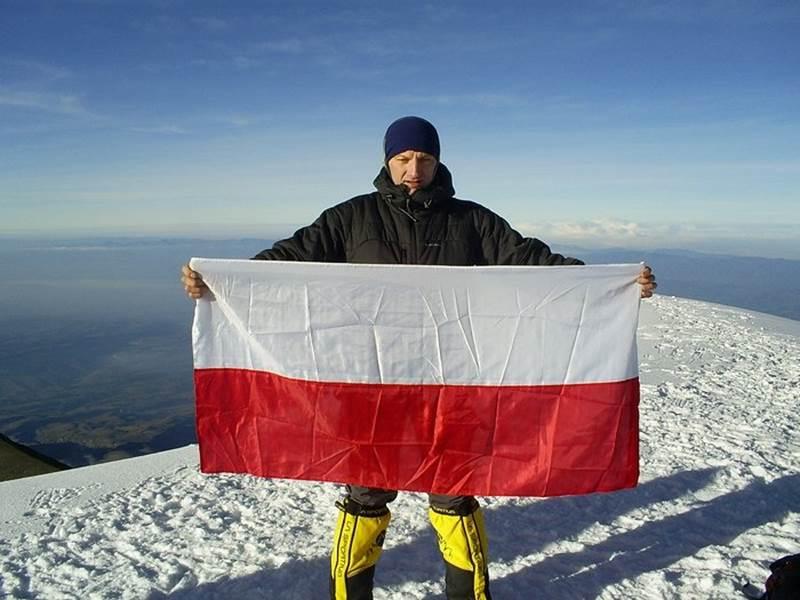 Robert Janiec, nasz uczeń – alpinista